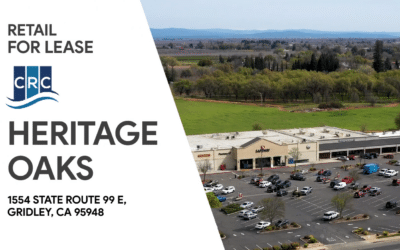 FOR LEASE – HERITAGE OAKS, GRIDLEY CA
